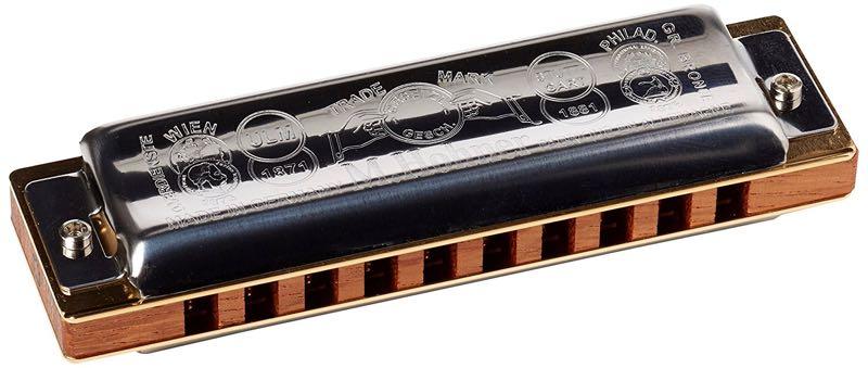 Hohner Marine Band, le plus célèbre des harmonicas diatoniques
