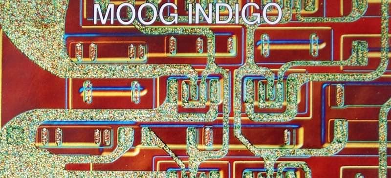 Jean Jacques Perrey Moog indigo