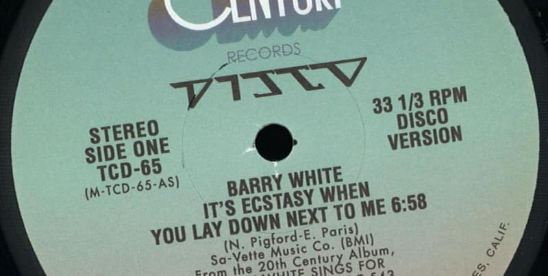 Barry White Sings for Someone you Love