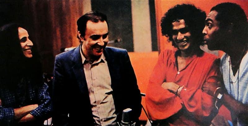 Joao Gilberto Brasil Gilberto Gil, Caetano Veloso et Maria Bethania