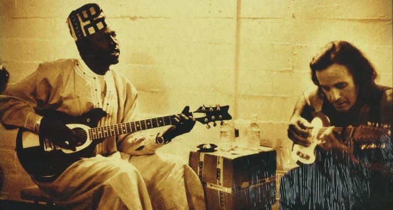ali farka toure and ry cooder talking timbuktu